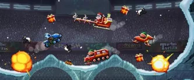 魔性小游戏第三弹:撞头赛车